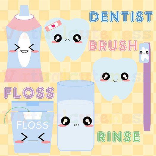 Cute dentist clipart