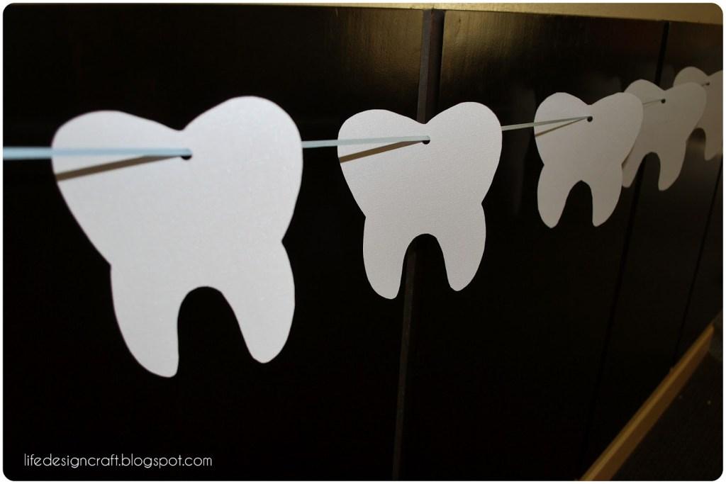 Tooth Banner - Dental School Graduation