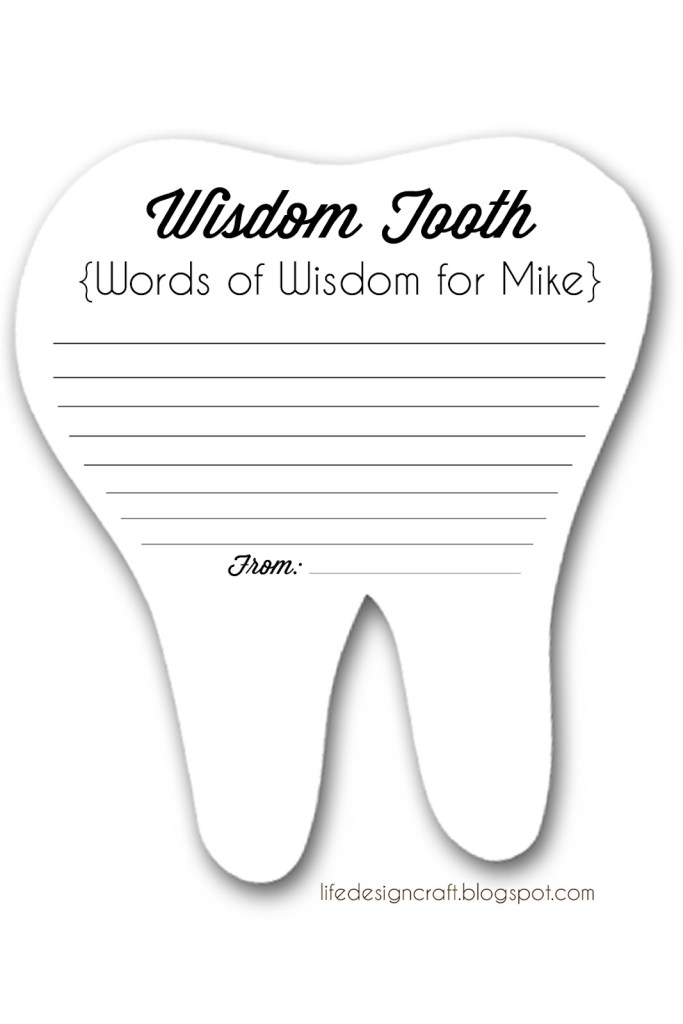 Wisdom Tooth - Dental Graduation Party
