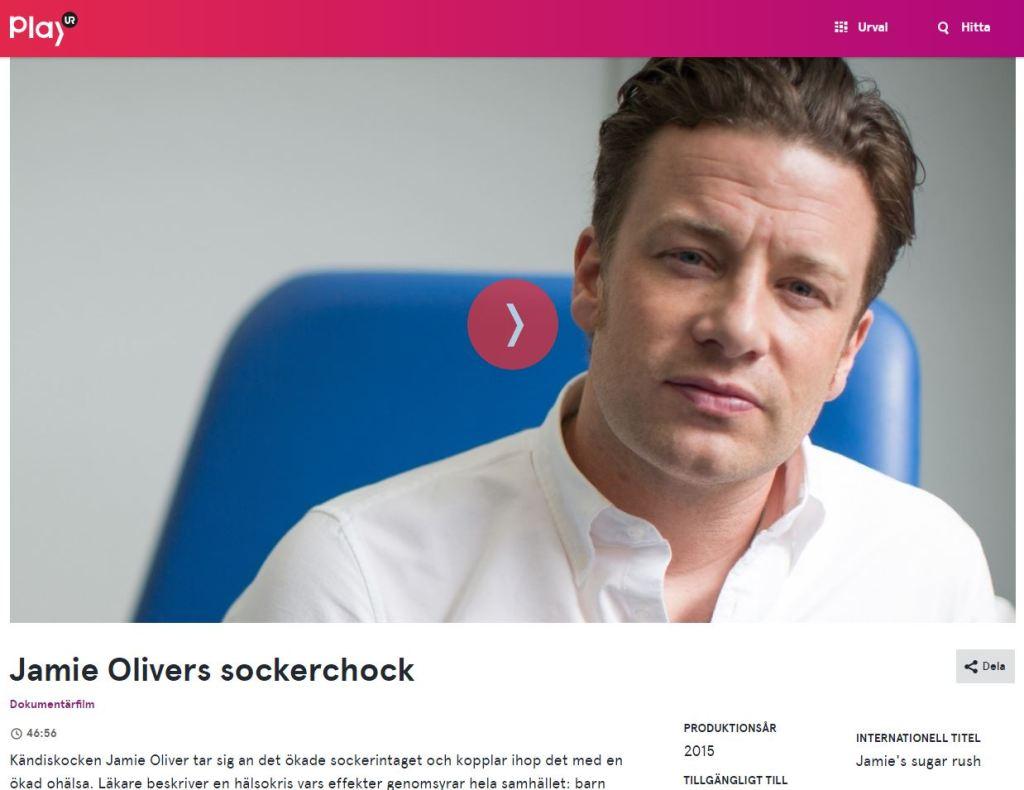 Jamie Olivers sockershock