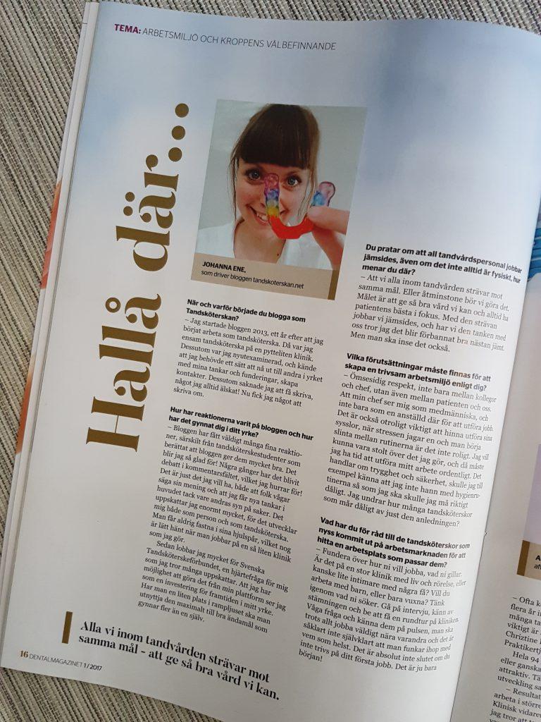 Dental-Magazinet Johanna Ene