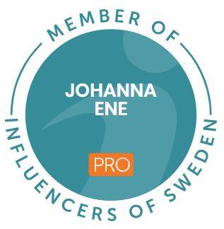 Member of Influencers of Sweden Johanna Ene
