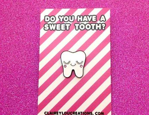 Sweet tooth pin Etsy