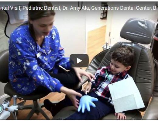 Child's dental visit