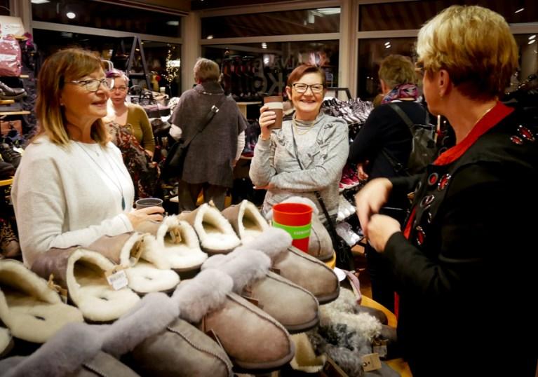 Lokalförening Göteborgs Tandsköterskeförening, Älvängens Skor 2018-12-05.