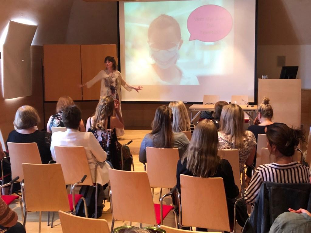 Aqua Dental konferens för tandsköterskor i Göteborg 2019 med tandsköterska Johanna Ene.