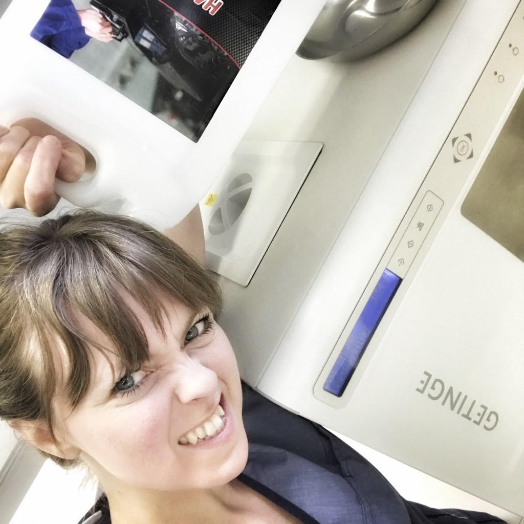 Bild på Johanna Ene, tandsköterska på M4 Tandklinik i Lerum.