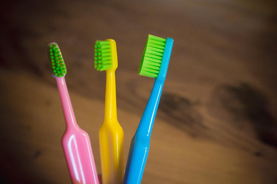 TePe GOOD tandborstar i bioplast tillverkade av sockerrör.