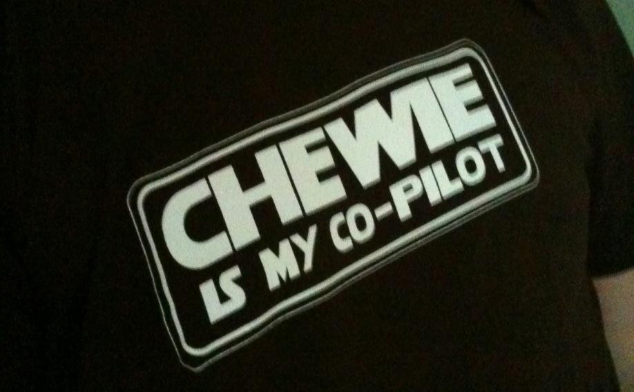 Chewie is my Co-Pilot