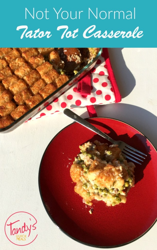 Not Your Normal Tator Tot Casserole
