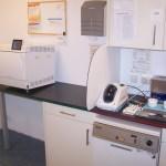 De sterilisatieruimte