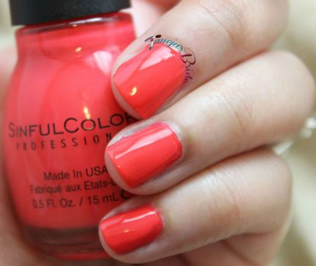 SinfulColorsElectricRed