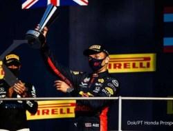 Honda Raih Podium pada Seri Balap F1 Grand Prix Tuscany untuk Pertama Kalinya