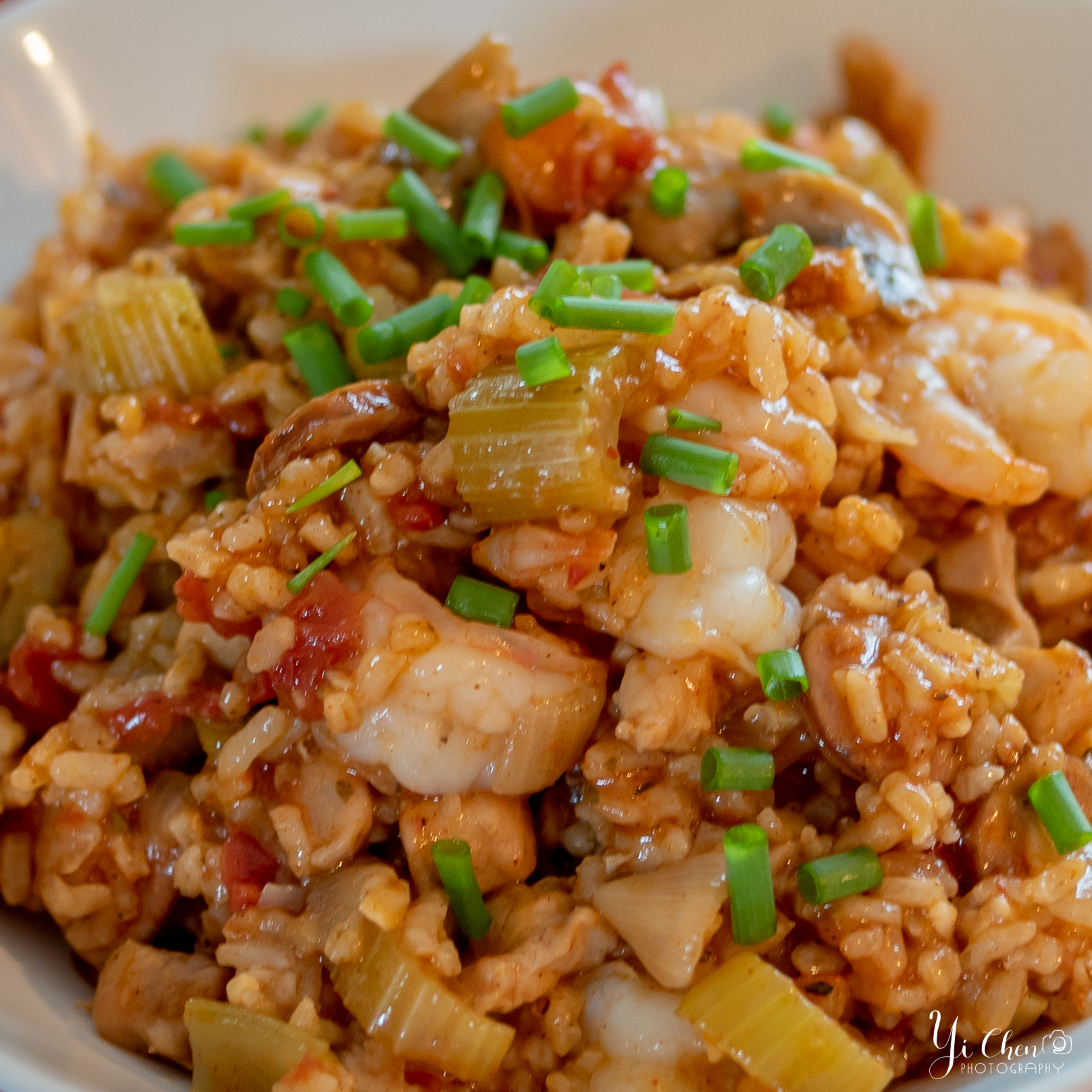 Close up look of Jambalaya