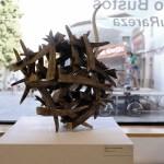 Peça de l'exposició al Museu del Càntir d'Argentona dins l'Argillà 2021 d'Alberto Bustos sota el nom de Naturareza