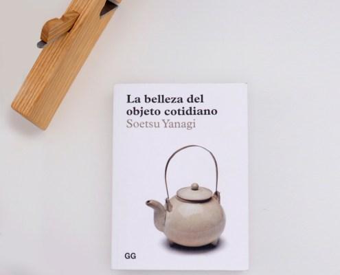 Llibre La belleza del objeto cotidiano de Soetsu Yanagi, editorial GG