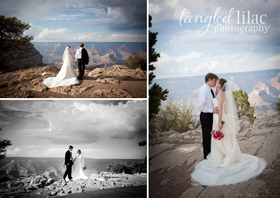 Rebecca And Evans Grand Canyon Wedding Flagstaff And