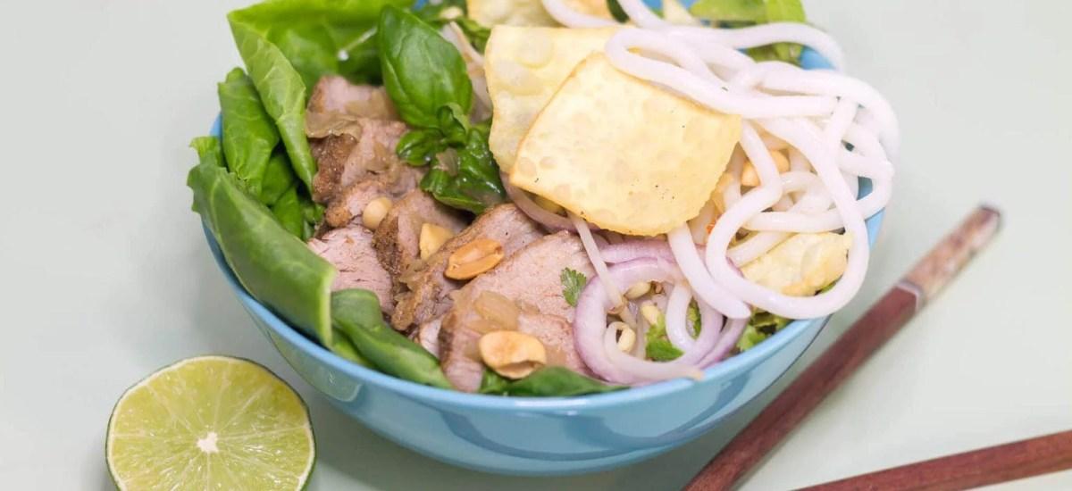 Cao Lau – Vietnamese Noodle Bowl