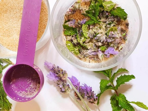 Lavender-Mint-Lemonade-Recipe-preparation-steps