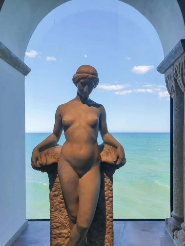 Best Things To Do In SITGES, Spain - Maricel Museum Statue