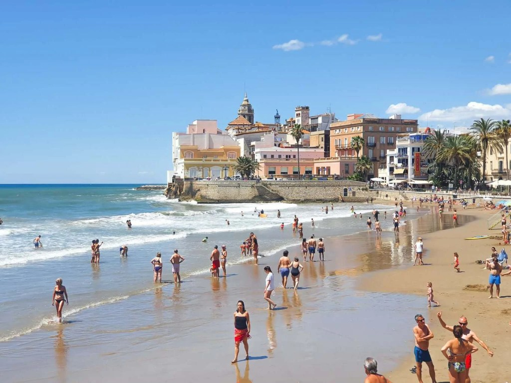 Best Things To Do In SITGES, Spain - San Sebastian Beach