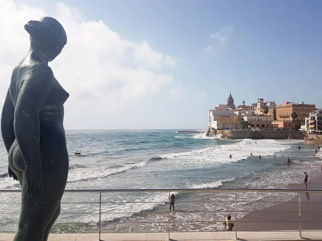 Best Things To Do In SITGES, Spain - San Sebastian beach - viewpoint