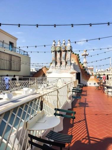 Casa Batllo, Barcelona - Tour Guide & Tips for Visiting- Rooftop Terrace Bar