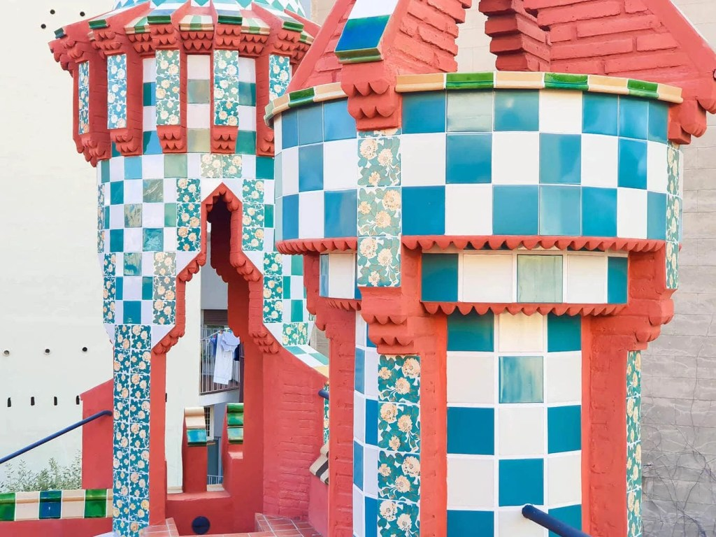 Casa Vicens, Barcelona – Gaudi's First Masterpiece - Review - Rooftop towers