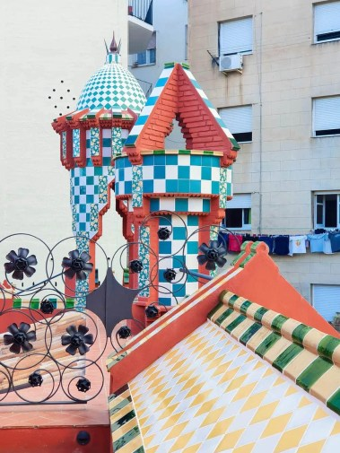 Casa Vicens, Barcelona – Gaudi's First Masterpiece - Review - Rooftop