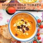Salmorejo – Spanish Cold Tomato Soup - PIN1