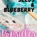 Chia Seeds Blueberry Popsicles - easy recipe- served popsicles-PIN2