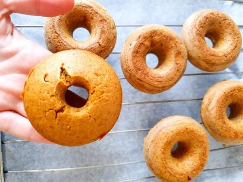 Baked Halloween Pumpkin Donuts -baked donuts