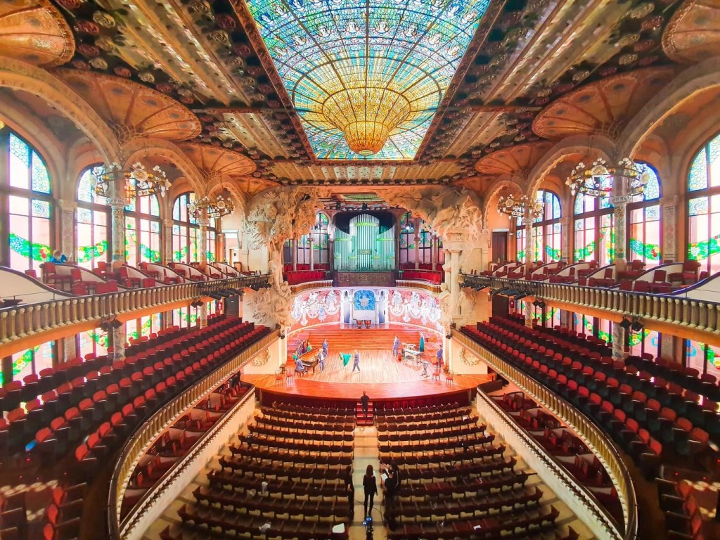 Palau de la Musica Catalana - (Barcelona) - Tour Guide & Tips for Visiting - Concert Hall