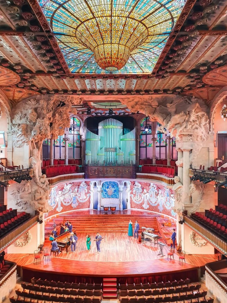 Palau de la Musica Catalana - (Barcelona) - Tour Guide & Tips for Visiting - rehearsal