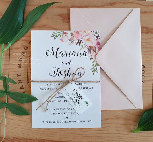 wedding invitations online l australia
