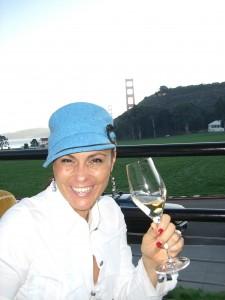 Teresa Enjoying Sunday Brunch at Cavallo Point