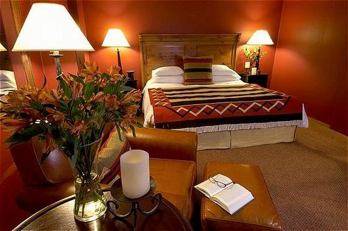 A room at the Inn & Spa at Loretto