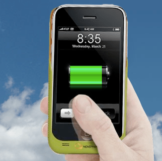 Novothink Solar iPhone Charger