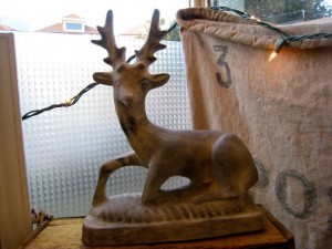 Modern Relics: Stag Sculpture