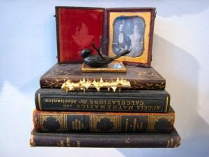 Modern Relics: Book Sculpture