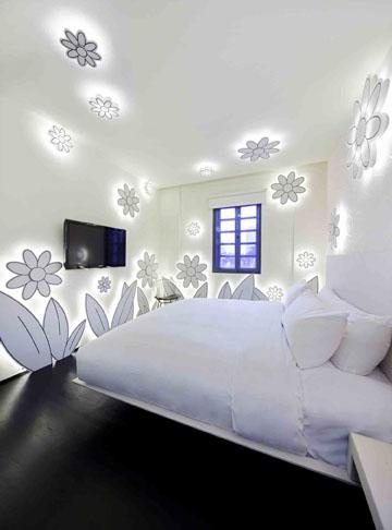 Flower Room at Wanderlust Hotel