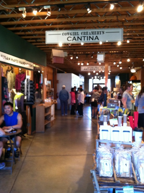 6. Cowgirl creamery is a must-hit cheese spot
