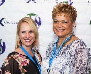 Rebecca Moore and LaTonya Lawson (Celebrity Cruises)