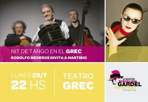 Postal Festival Tango-Frente
