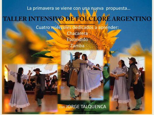 taller folclore