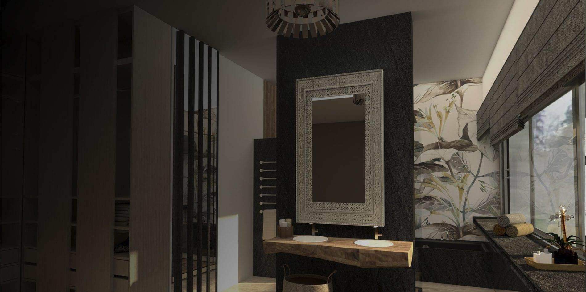 Proyecto de interiorismo para apartamento de lujo en Málaga