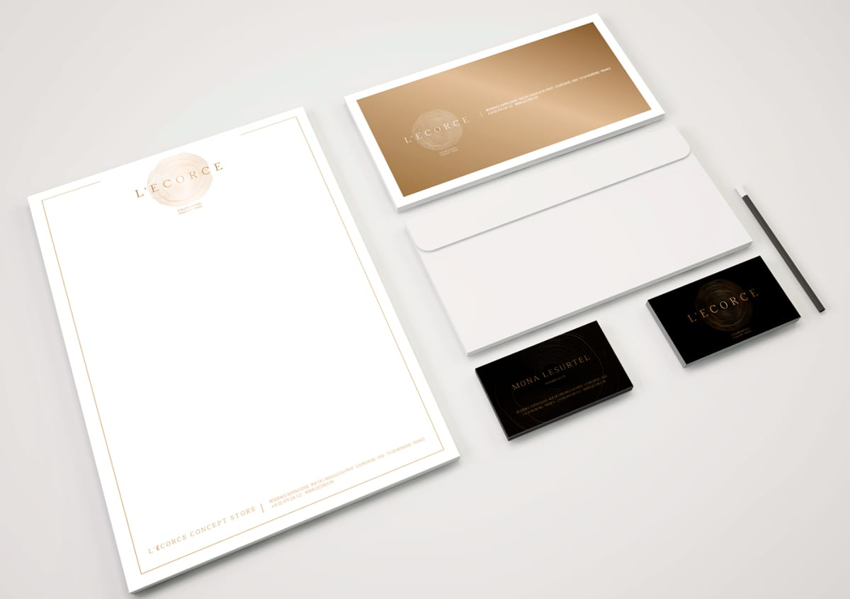 Diseño de papeleria corporativa con diseños originales