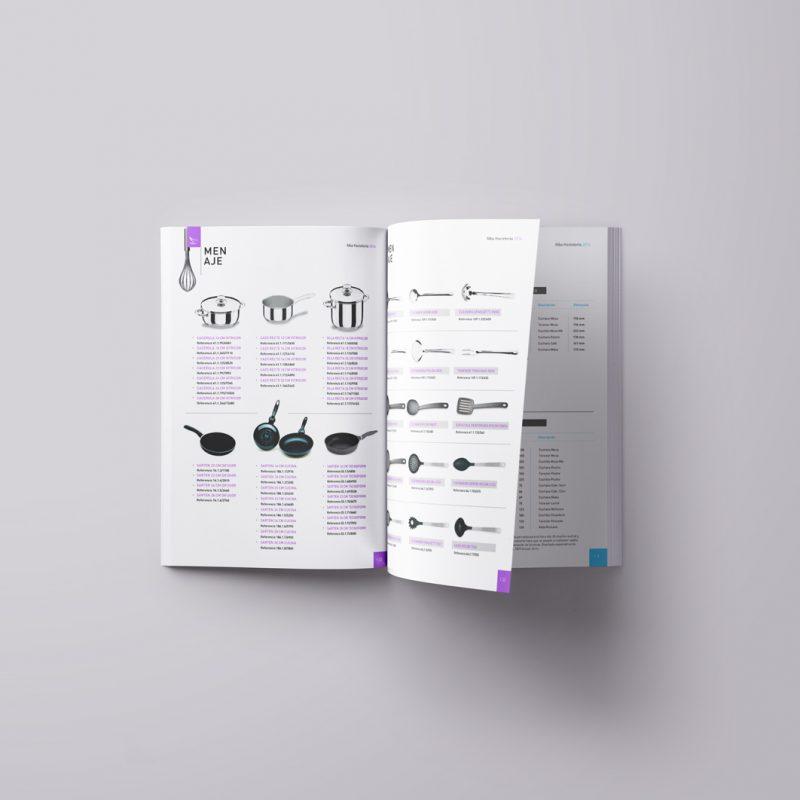 diseño de catalogo de producto