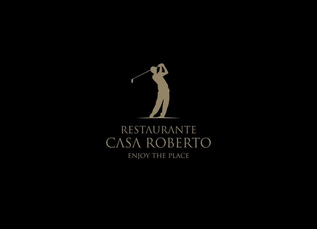 Casa Roberto, diseño de logotipo emblema de marca