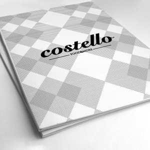 Restaurante, diseño de carta vintage, creativo